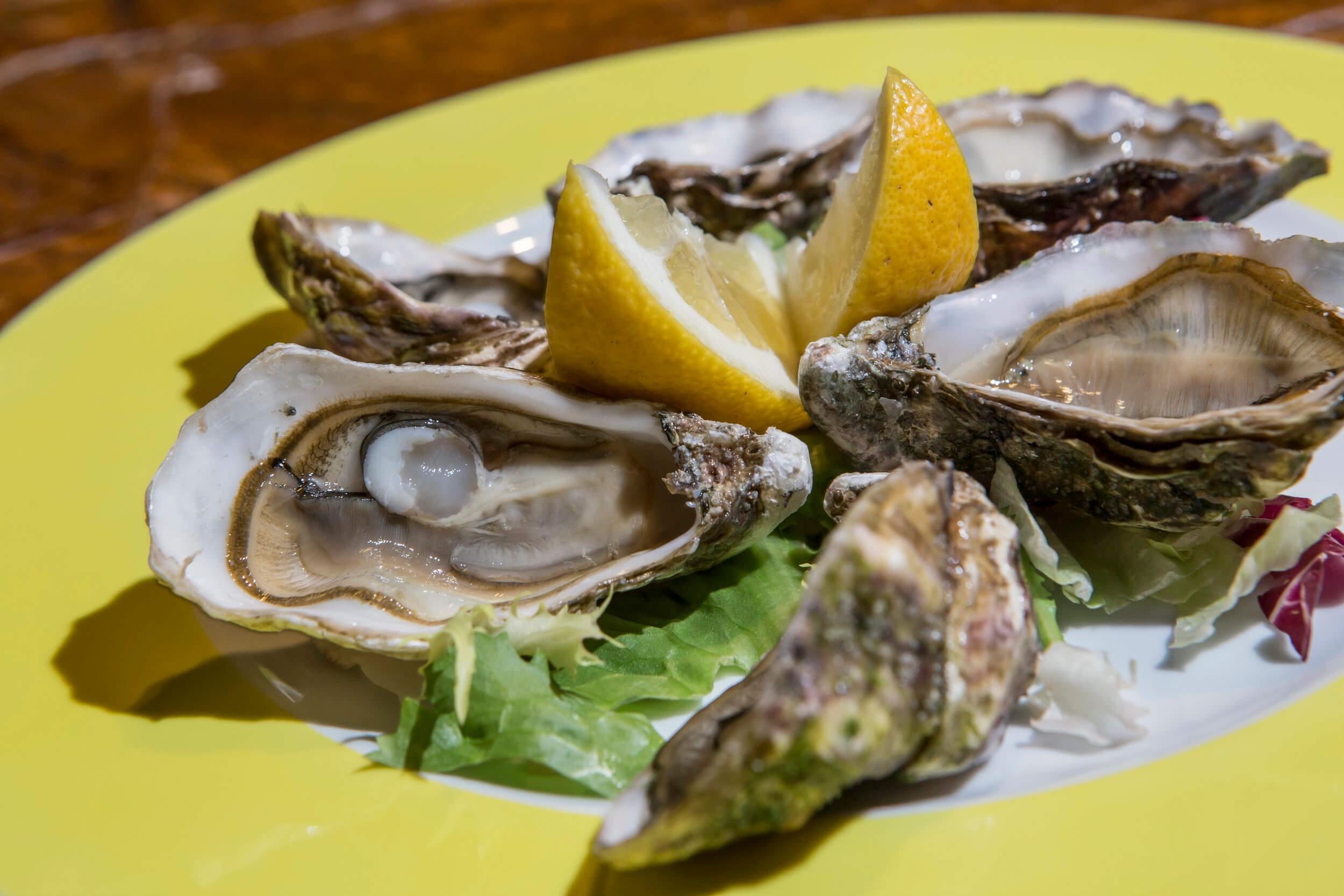 Ristorante di pesce Le Vele Roma ostriche freschissime