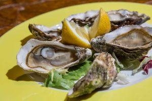 Ristorante di pesce Le Vele Roma ostriche appena pescate