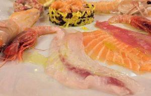 Crudo di pesce freschissimo ristorante di pesce roma le vele