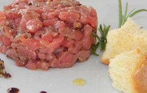 Tartare freschissima fish restaurant roma le vele