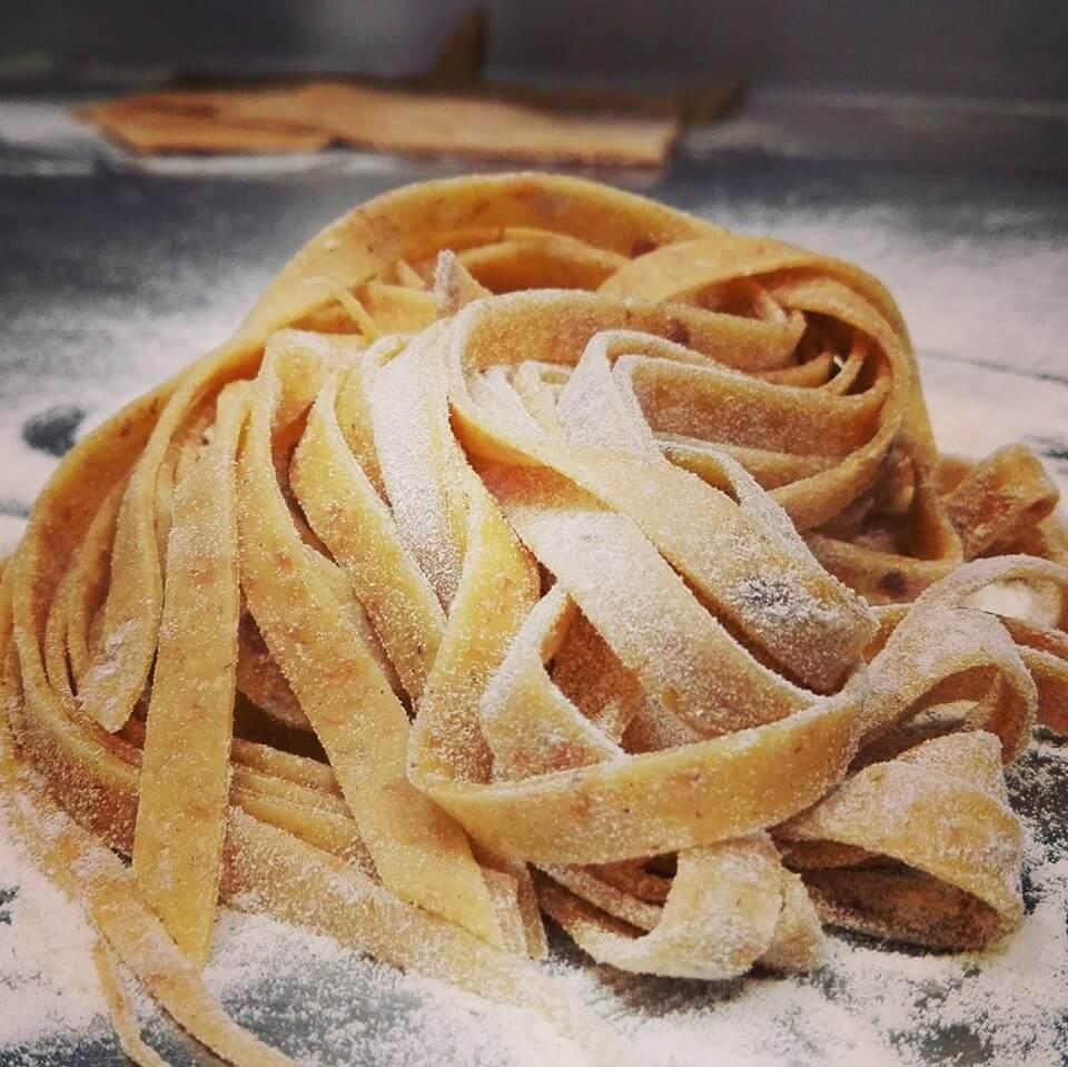 pasta fresca fatta in casa ristorante di pesce roma le vele