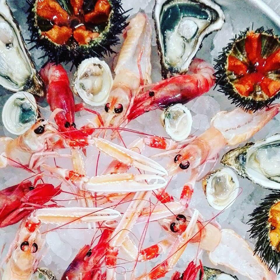 crudo di mare freschissimo ristorante di pesce roma le vele